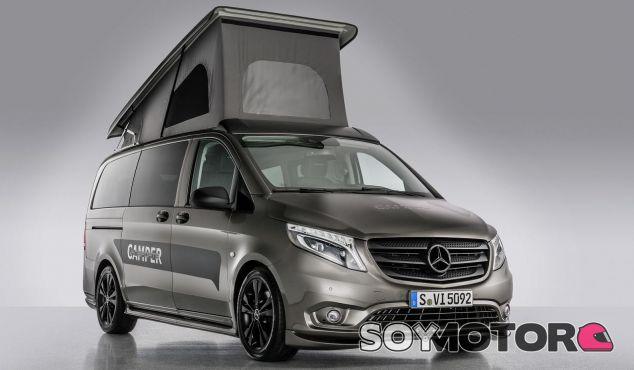 Mercedes Vansportscamper: camping a toda velocidad -SoyMotor