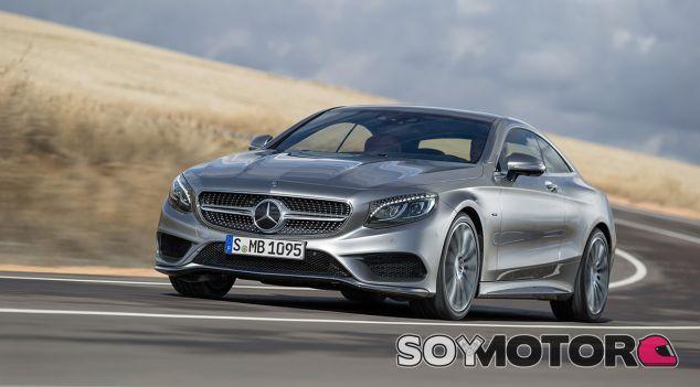 Mercedes-Benz consigue dar una solución lógica por debajo del S500 Coupé - SoyMotor
