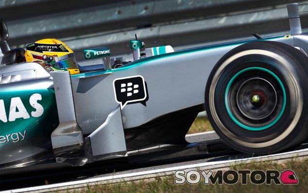 Lewis Hamilton en Corea - LaF1