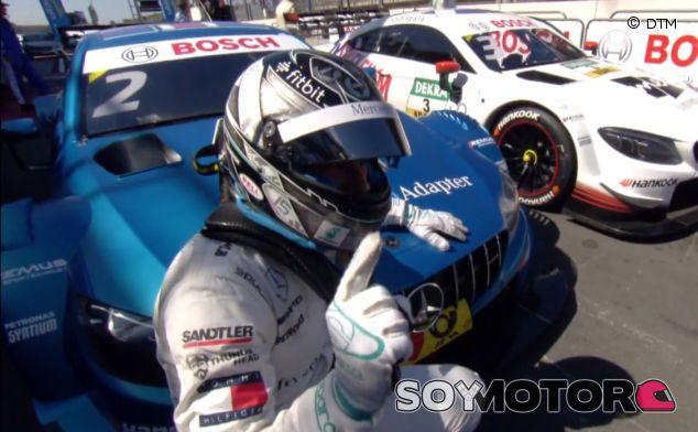 Gary Paffett en Zandvoort - SoyMotor.com