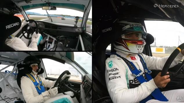 VÍDEO: pique entre Hamilton y Wolff con dos DTM en Silverstone - SoyMotor.com