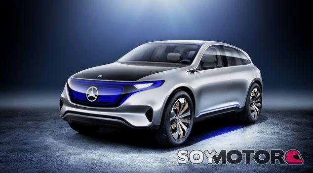 El Mercedes EQ Concept 6 adelanta el primer crossover eléctrico de la marca - SoyMotor