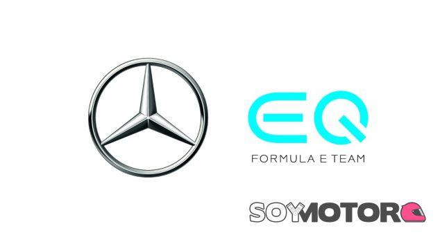 Logo del equipo de Fórmula E de Mercedes - SoyMotor.com