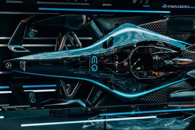 Vandoorne, Mortara y Gutiérrez afinan el Mercedes en un test en Mallorca - SoyMotor.com