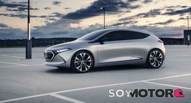 Mercedes ha presentado el EQ A Concept en el Salón del Automóvil de Frankfurt - SoyMotor