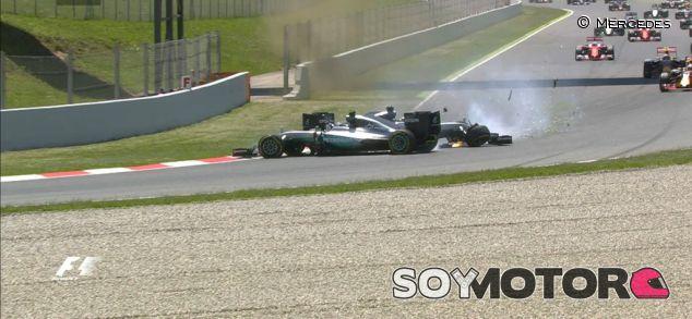 Éste fue el momento del accidente - LaF1