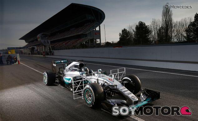 Nico Rosberg en los test del Circuit de Barcelona-Catalunya - LaF1