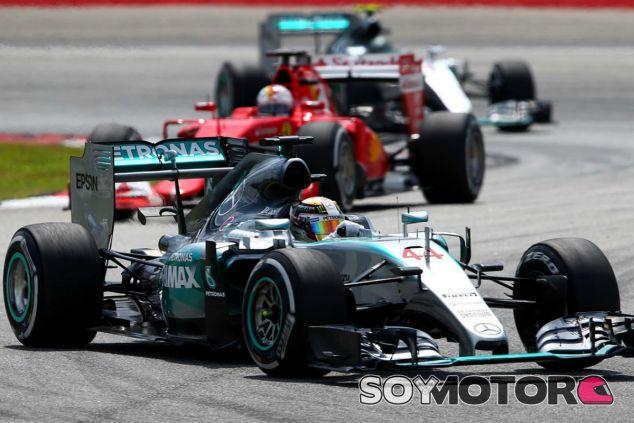 Ferrari amenaza el dominio de Mercedes - LaF1
