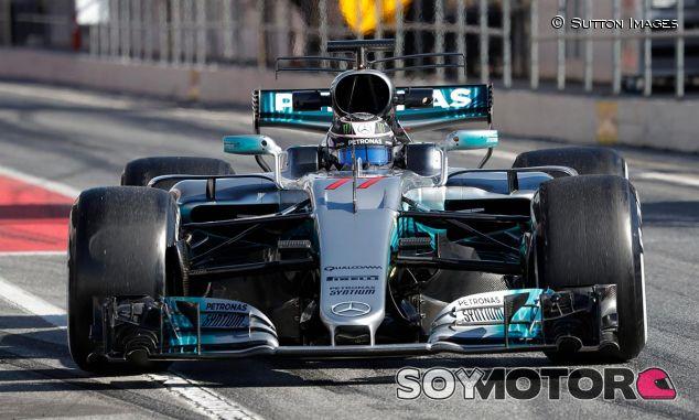 Valtteri Bottas en Barcelona - SoyMotor