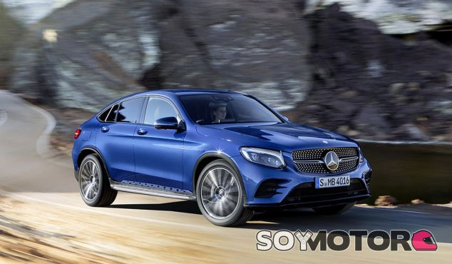 El Mercedes GLC Coupé llega para luchar a cara de perro con el BMW X4 - SoyMotor