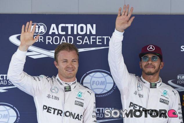 Doblete de Mercedes en clasificación - LaF1