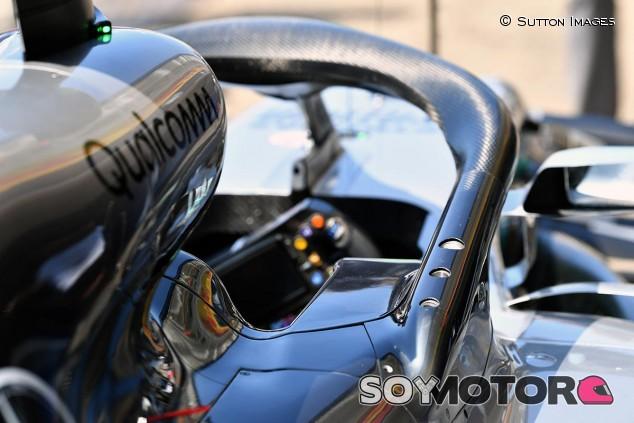 Detalle del Mercedes W09 - SoyMotor