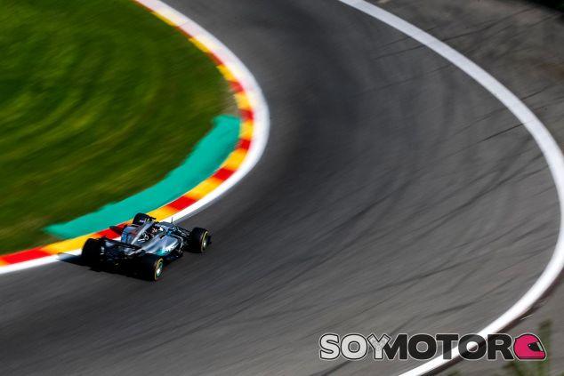 Lewis Hamilton en Bélgica - SoyMotor