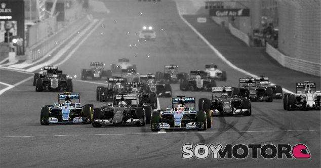 Lewis Hamilton y Nico Rosberg en Baréin - LaF1