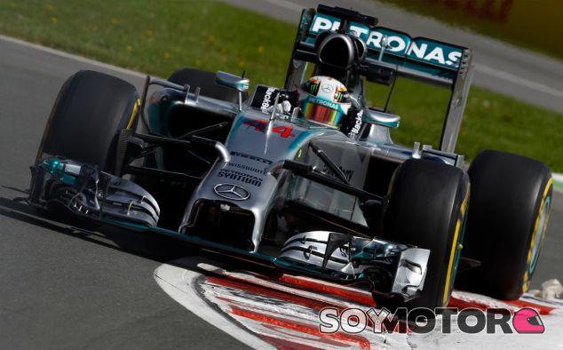 Lewis Hamilton durante el Gran Premio de Canadá - LaF1