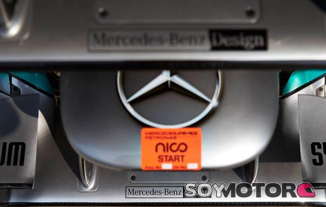 Detalle del Mercedes W04 de Nico Rosberg - LaF1