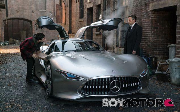 El Mercedes-AMG Vision Gran Turismo luce al 110% de su tamaño real en la película - SoyMotor