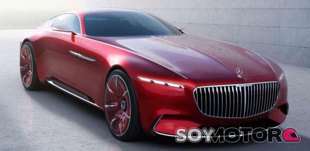 Mercedes Maybach 6 - SoyMotor