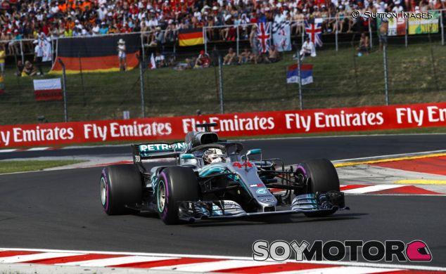 Lewis Hamilton en Hungría - SoyMotor.com