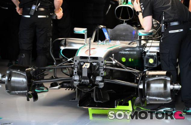 Las suspensión de Mercedes - y Red Bull -, en el punto de mira - SoyMotor