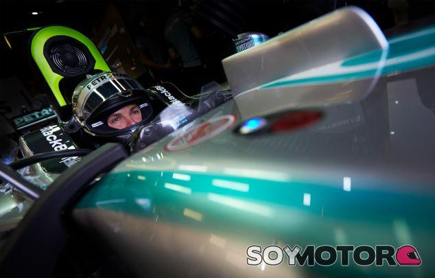Nico Rosberg en el pasado Gran Premio de Australia - LaF1