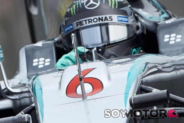 Detalle del S-Duct en el coche de Nico Rosberg - LaF1