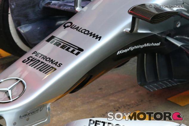 Detalle del Mercedes W07 - SoyMotor