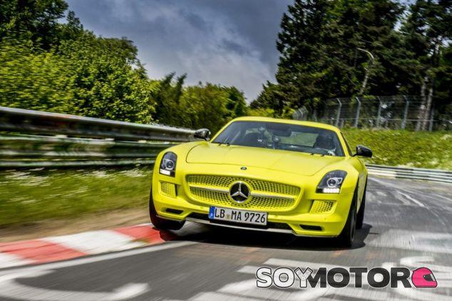 Mercedes podría lanzar un sucesor del SLS AMG Electric Drive - SoyMotor.com
