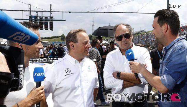 Mercedes sopesa incorporar a Button en el DTM - SoyMotor.com