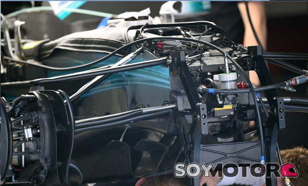Mercedes prepara un nuevo diseño de suspensión para España - SoyMotor.com