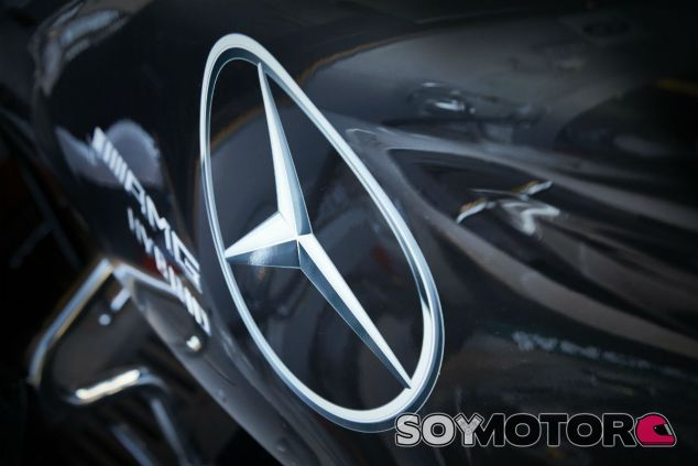 Detalle del Mercedes W07 - LaF1