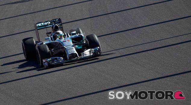 Mercedes AMG Petronas ya trabaja en el monoplaza de 2015