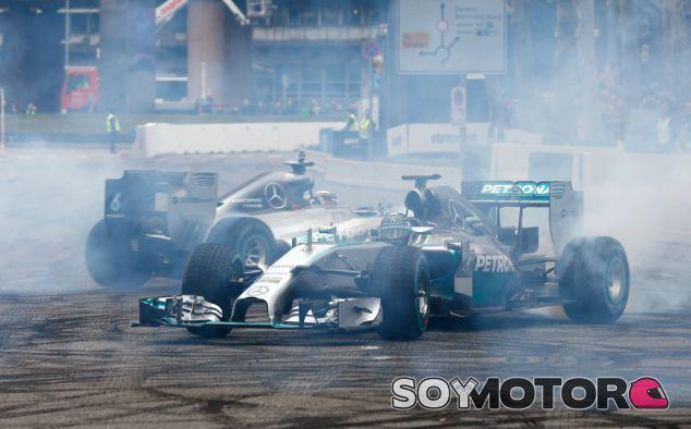 Mercedes montará su motor de 2015 desde Jerez - LaF1.es