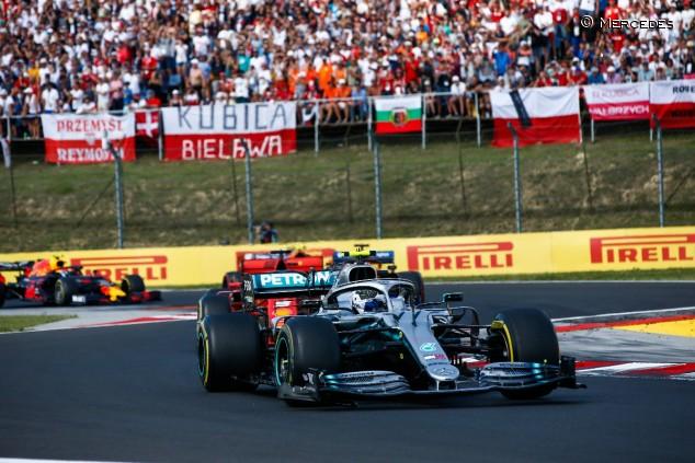 Valtteri Bottas en el GP de Hungría F1 2019 - SoyMotor