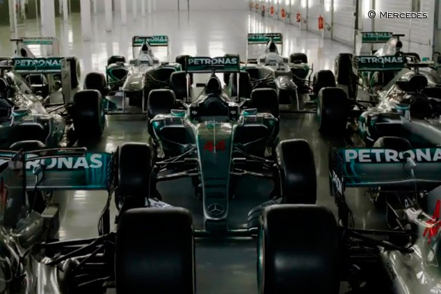 Mercedes anuncia la fecha de presentación de su coche de 2020 - SoyMotor.com