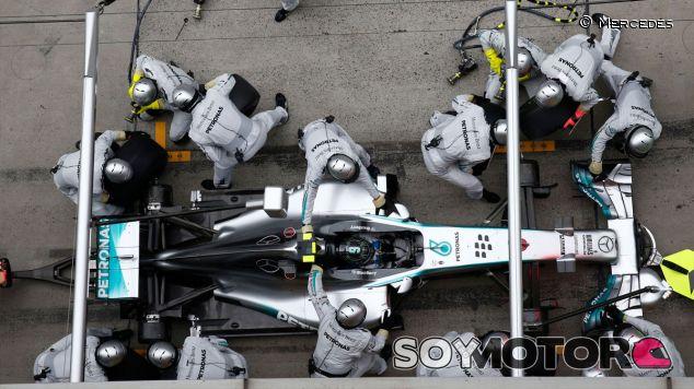 Nico Rosberg en el pasado Gran Premio de China - LaF1