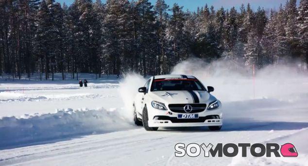 Los pilotos de Mercedes en el DTM se entrenan ¡sobre un lago helado! – SoyMotor.com