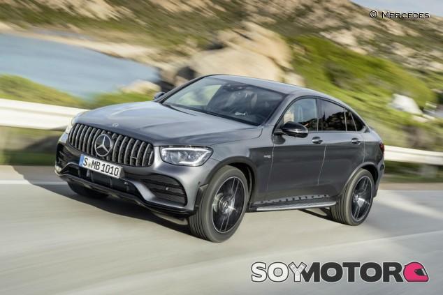 Mercedes GLC Coupé 2020: los AMG, desde 81.800 euros - SoyMotor.com