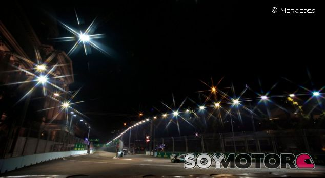 Los aficionados del GP de Singapur apoyan su continuidad - SoyMotor.com