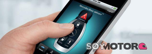 Llave digital Mercedes