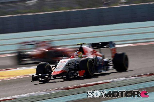 Merhi se ha peleado con su coche sin éxito durante todo el fin de semana - LaF1