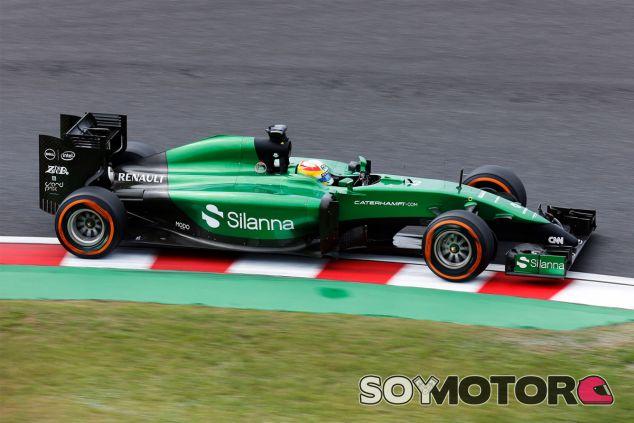 Roberto Merhi ha rodado en los Librs 1 en sustitución de Kamui Kobayashi - LaF1