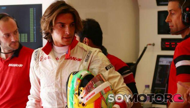 Roberto Merhi en Hungría - LaF1
