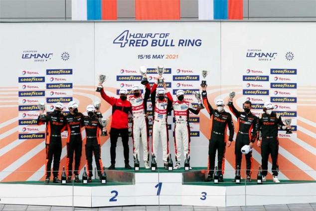 Merhi sube al podio de las 24 Horas del Red Bull Ring - SoyMotor.com