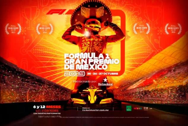 México presenta el póster de su GP 2019 a ritmo de mariachi - SoyMotor.com