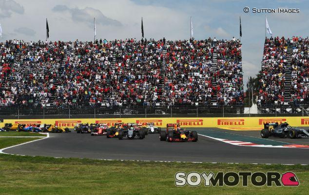 Salida del GP de México - SoyMotor