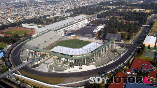 Vista aerea del Autódromo Hermanos Rodríguez - LaF1.es