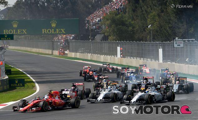 Salida del Gran Premio de México - LaF1