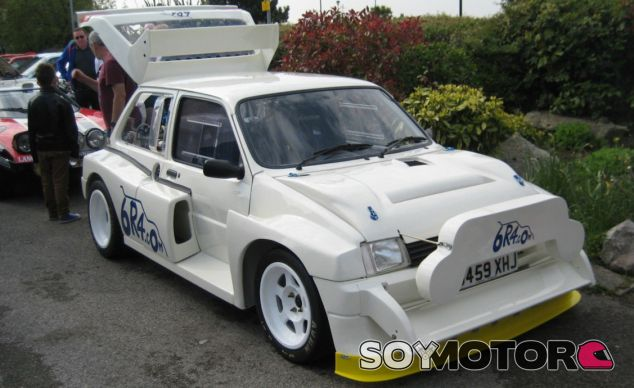 MG Metro 6R4 ex Colin McRae - SoyMotor