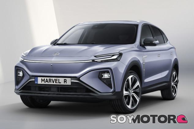 MG Marvel R Electric 2021 - SoyMotor.com